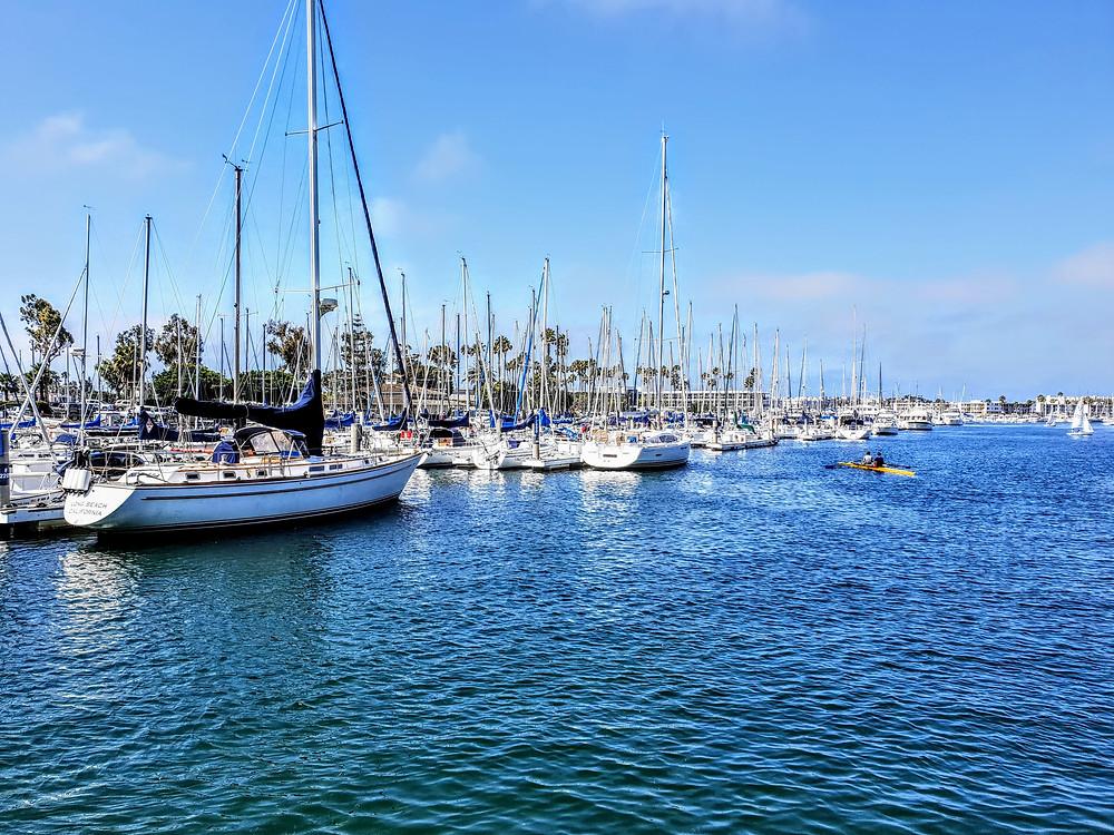 marina del rey, sailboat, paddlexaminer