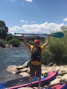 Arkansas river, Michael Chebatoris, Altitude Paddleboards, Downriver SUP class, S. Platte river