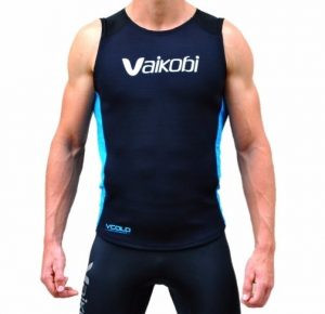 Vaikobi paddling vest The V Cold Storm Paddle Vest lives up to the V Cold name by providing warmth where it is needed during cool days on the water.