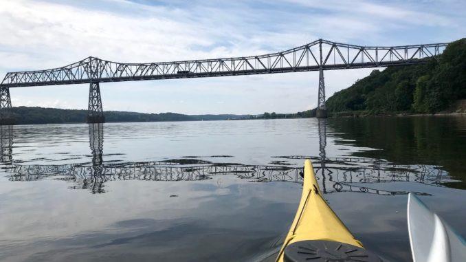 Rip Van Winkle Bridge, Hudson River, Ian Berger, Hudson Highlander, PaddleXaminer
