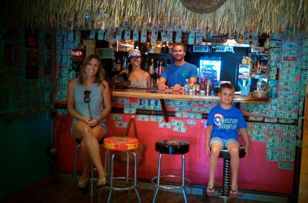 The Tiki Bar at the Coffee Cup.