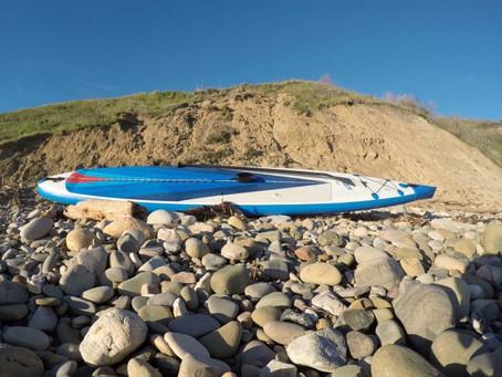 Coastal Cruising on the Sea Eagle NN14 Inflatable Paddleboard