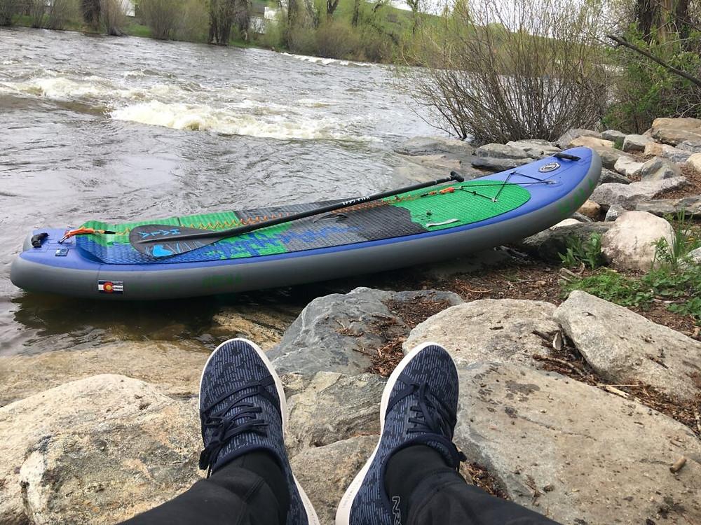 adidas parley shoes, paddlexaminer, whitewater, paddling, standup paddling