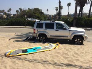 hala playa, matt chebatoris, sup examiner, pumped up paddler, hala gear, venice beach, surfing, shelta hats, shelta test pilot, hala graphic travel paddle, travel paddle, standup surfing, standup paddling
