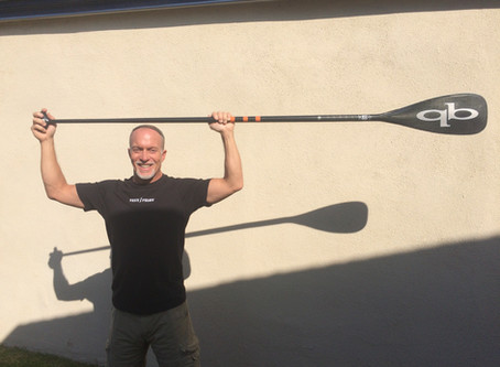 Mark your SUP Paddle to Maintain Correct Form