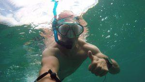 laguna beach, snorkeling, paddling, sup examiner, deckbagz, hala gear, hala playa, quickblade paddles