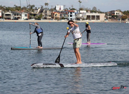 Paddling Tip: Train With a Group