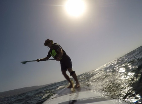 The Infinity Downtown: A New Rough Water-Downwind SUP from Infinity