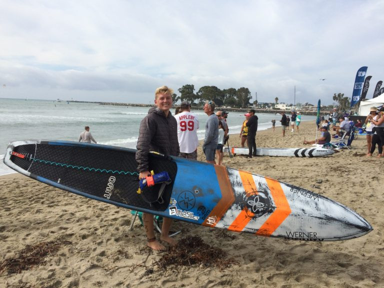Tyler Bashor, PaddleXaminer, Infinity SUP, Infinity Blackfish, Dana Point, PaddleXaminer, Pacific Paddle Games, Doheny State Beach