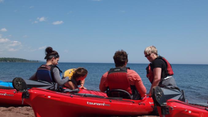 kayak, kayaking, paddling, Bahamas, paddlexaminer