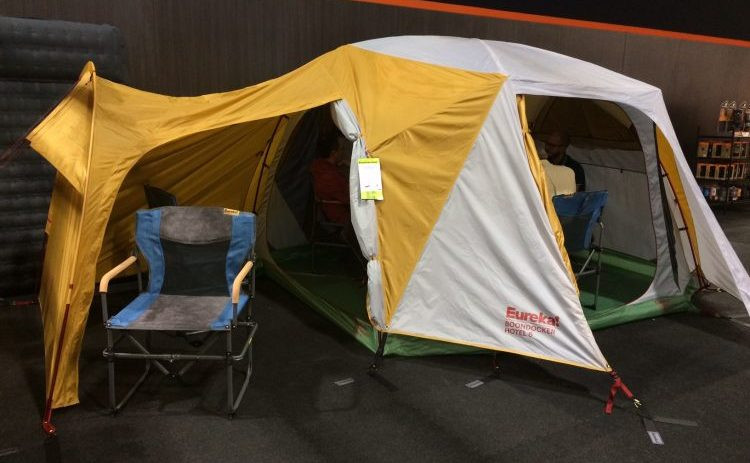 Eureka Boondocker Hotel 6, eureka tents, camping, paddlexaminer, outdoor retailer
