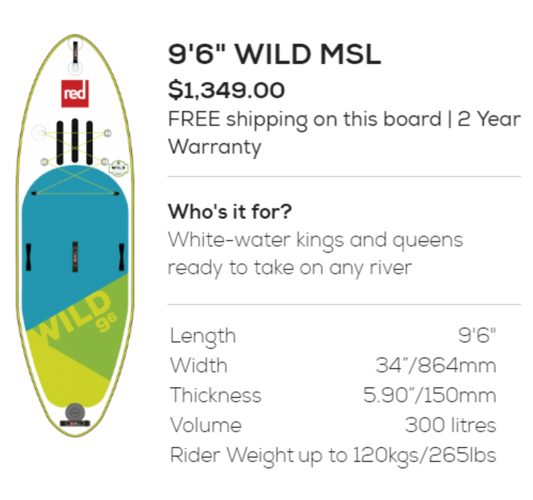 Red Wild MSL, Red Paddle Co, white water, paddling, paddlexaminer, colorado river