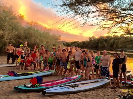No Snow Stand Up Paddleboards – Mesa, Arizona