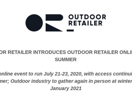 Summer Outdoor Retailer Show Goes Virtual