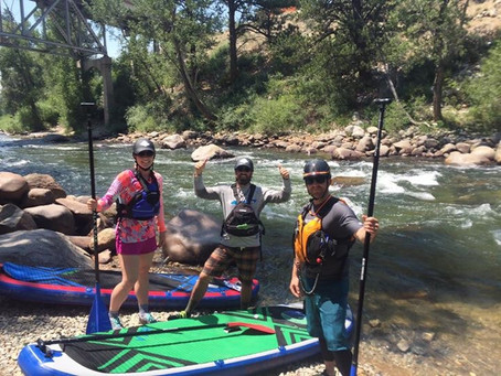 Progressing Into Whitewater Paddling: Arkansas River SUP Trip