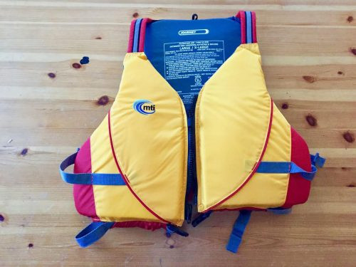 MTI Journey PFD, MTI Adventure Wear, paddling, water safety