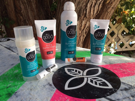 All Good Sunscreen: Environmentally Friendly Products