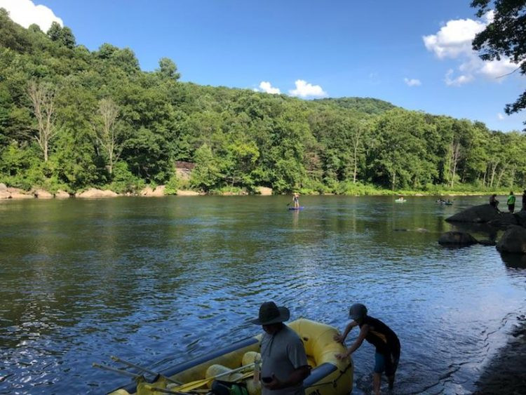 Yough River, paddlexaminer, standup paddling, hala gear, Youghiogheny