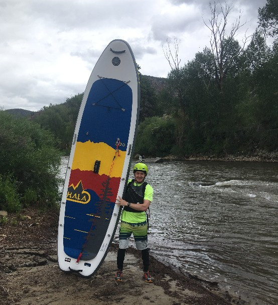Hala Rado, PaddleXaminer, Hala Gear, Whitewater SUP