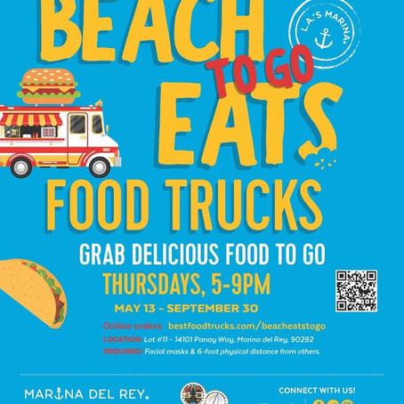 "Beach Eats ""To Go"" Returns to Marina del Rey"