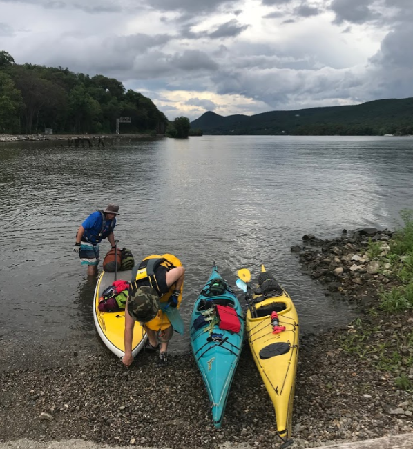 multi-day excursion, Hudson River, PaddleXaminer, hudson highlander