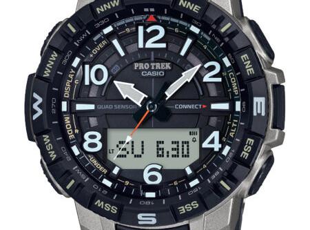 CASIO Expands PRO TREK Lineup With New Titanium Timepieces