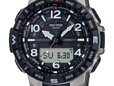 CASIO Expands PRO TREK Lineup With New Titanium Timepieces