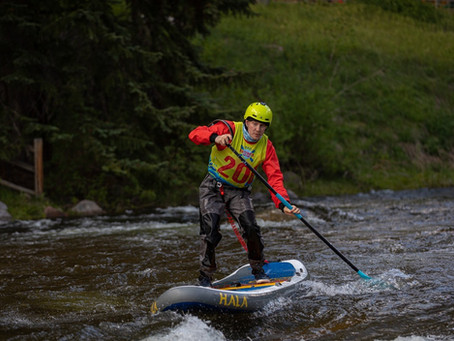 SUPCross at the Vail Whitewater Series