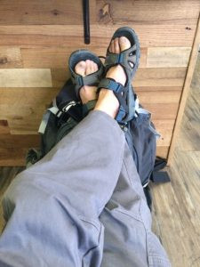 sandals, moab, back of beyond, sup examiner, hittle bottom campground, stand up paddling, paddle moab