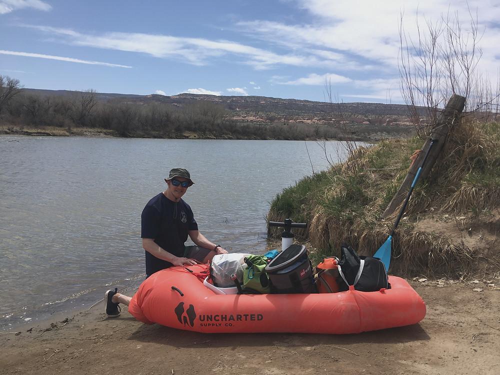 Uncharted Rapid Raft, PaddleXaminer, Colorado River