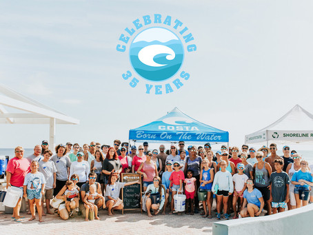 Costa Marks 35 Years in Business With 35 Beach Cleanups Across the Country