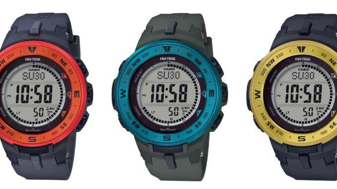 Casio Pro Trek Watch, gear, bear edge knife, shelta hat, cordova cooler, paddlexaminer
