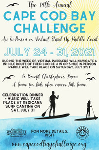 Cape Cod Bay Challenge Stand Up Paddle Event Returns In-Person and Virtually for its 14th Year
