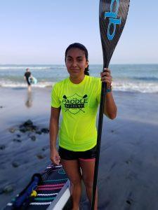 Erika Benitez, OnIt Pro, The Paddle Academy, SUP Examiner, Brawner Boards, Santa Monica Pier Paddleboard Race, Santa Monica Pier, SUP racing, Jr. Pro, Pacific Paddle Games