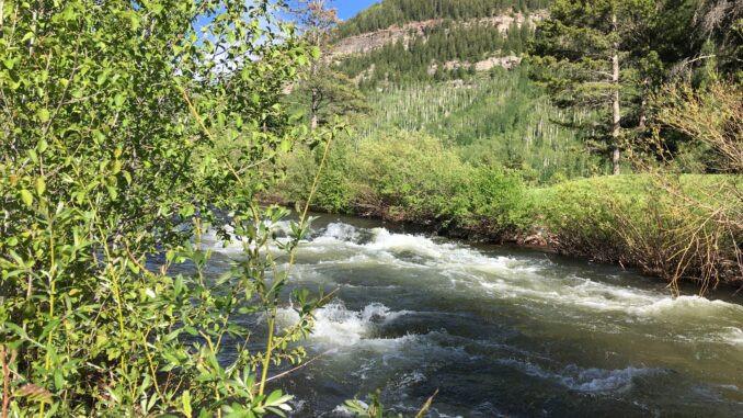 Hala Rado, Paddlexaminer, whitewater sup, inflatable sup, gore creek, vail colorado