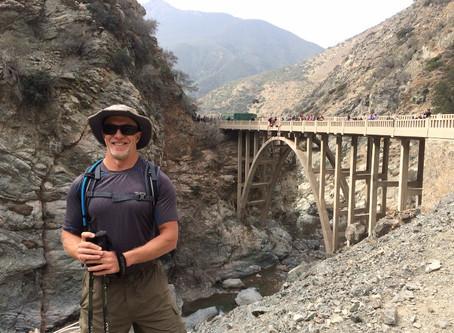 Hiking to the Bridge to Nowhere