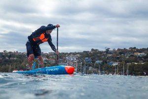 Downwind, downwinding, downwind paddling, vaikobi, pat langley
