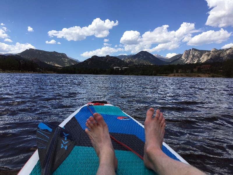Lake Estes, PaddleXaminer, Hala Gear, Hala Nass