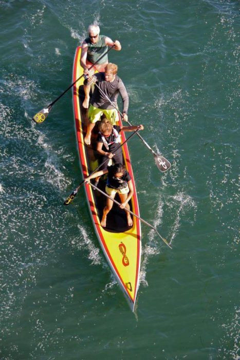 mel wygal, portland trailblazers, nba, cheerleader, paddlexaminer, tandem surfing, infinity sup, hanohano huki ocean challenge