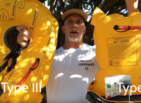 What's the Difference Between a Type III and Type V Inflatable PFD?