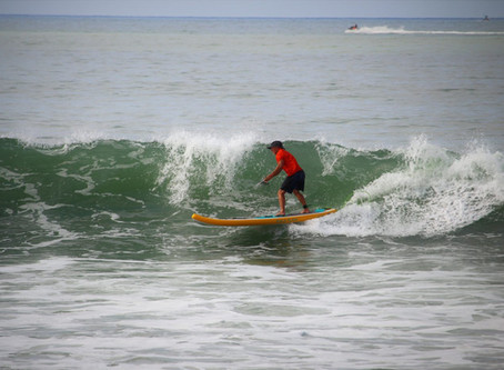 Surfing Doheny State Beach: A Pre-Race Warm-up