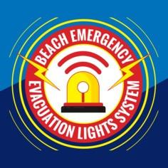 Beach emergency evacuation lights system, los angeles county, paddlexaminer