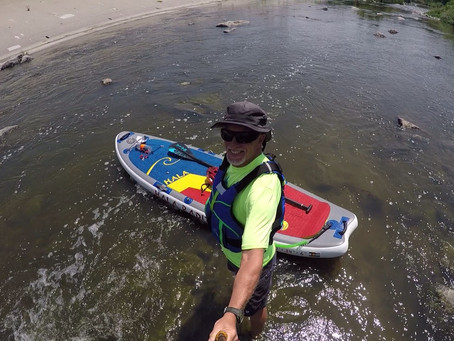 What to Look For in a Whitewater SUP