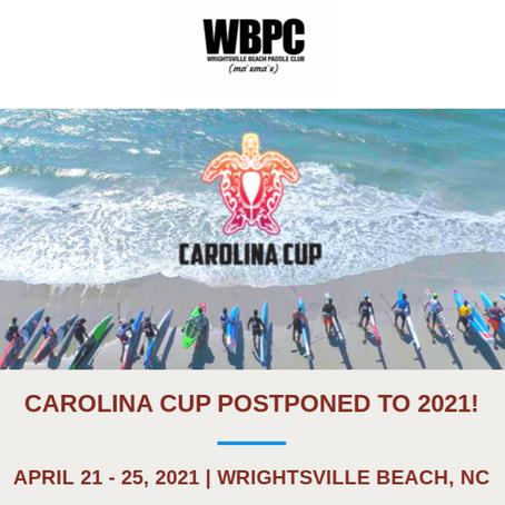 Carolina Cup Postponed to April 2021
