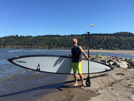 Mini Solo Columbia Gorge SUP Downwinder Vacation