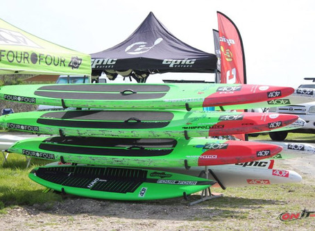 A First Look at the 2017 404 GoGo Surf Racing SUP