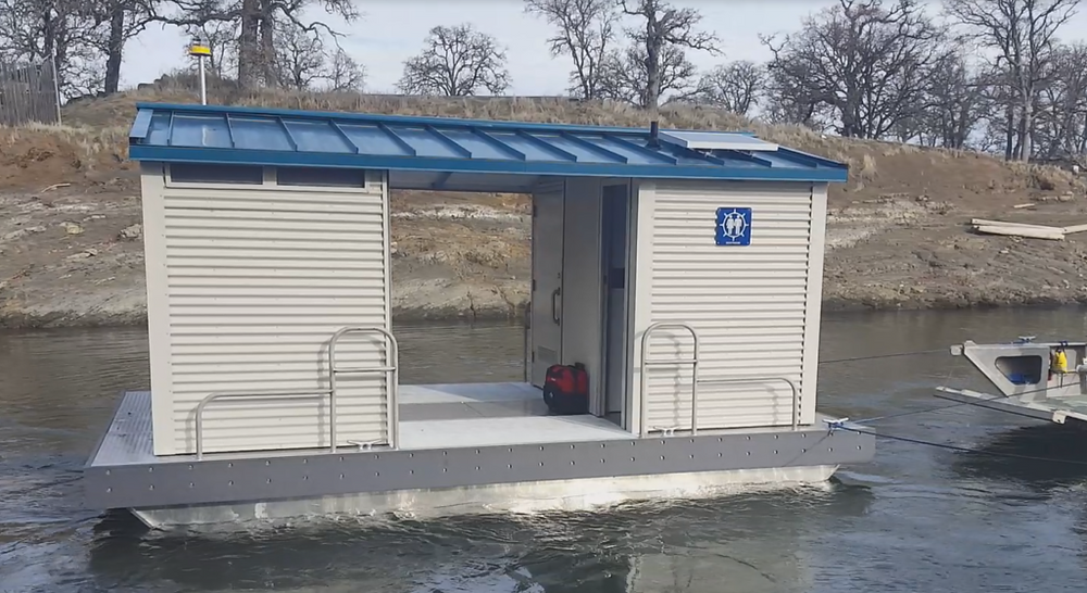 paddlexaminer, floating restroom, California state parks