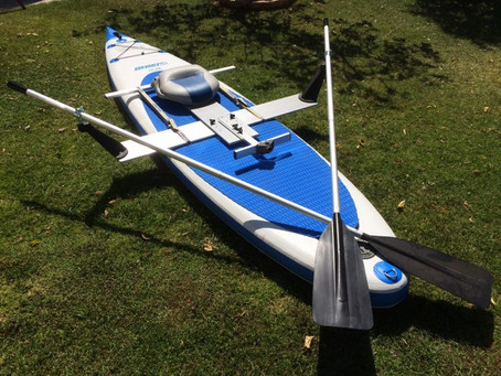 Sea Eagle Inflatable Paddleboard Offers Versatility