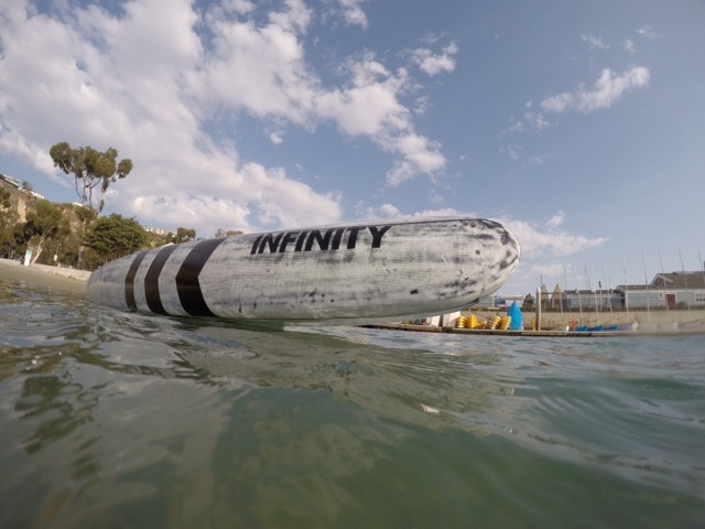 Infinity Downtown, Infinity SUP, Dave Boehne, SUP Examiner, Downtown Dugout, dugout sup, downwind sup, downwind board, baby beach, dana point harbor