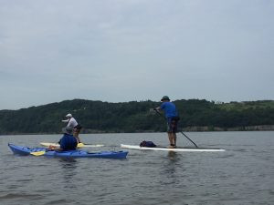 Ian Berger, distance paddling, sup examiner, paddling on the hudson river
